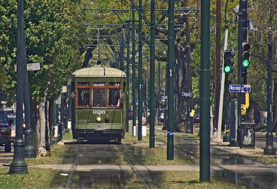 New-Orleans-Streetcar-Line-rain-print