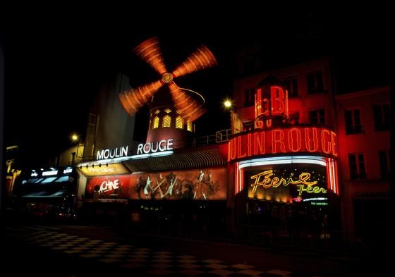 Paris - Le moulin Rouge