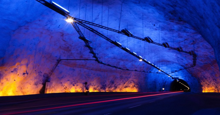 Túnel-Lærdal-