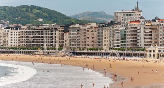 Playa de la Concha - 10 luoghi da visitare nei Paesi Baschi
