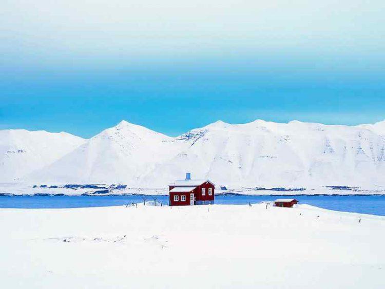 Islanda in Inverno