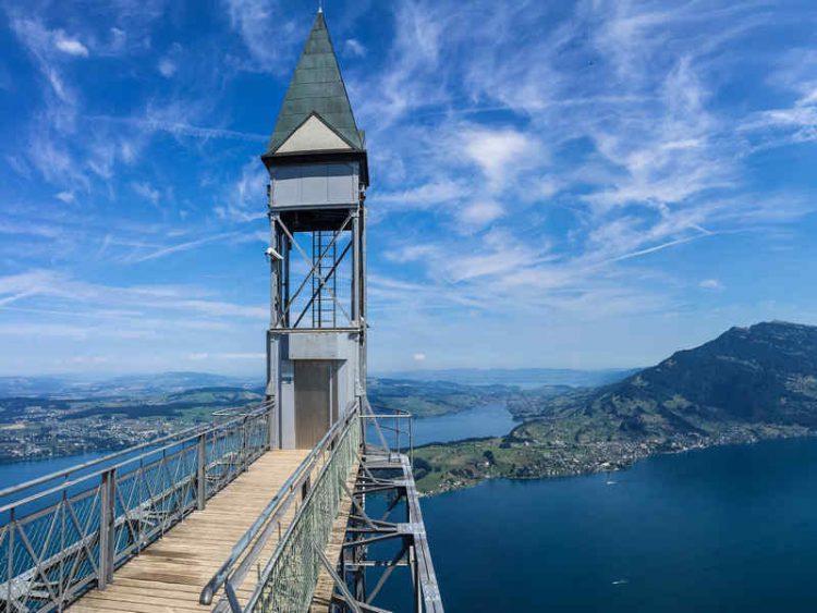 Hammetschwand, l'ascensore dalla vista mozzafiato sul Lago dei quattro Cantoni
