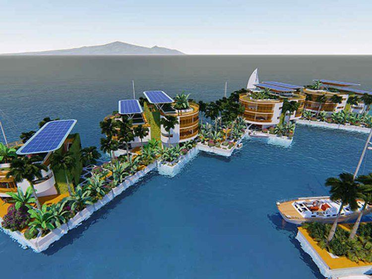 Blue Frontiers, nasce la prima isola galleggiante indipendente