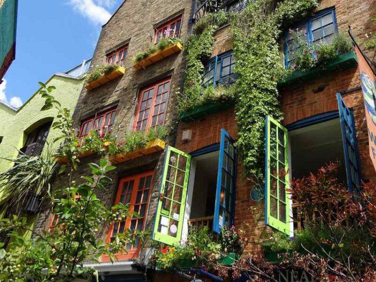 Neal's Yard, il vicolo colorato nel cuore di Londra