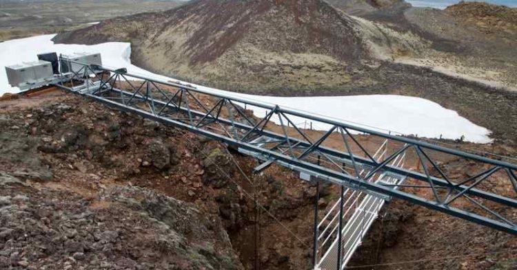 Thrihnukagigur, in Islanda si può entrare dentro un vulcano