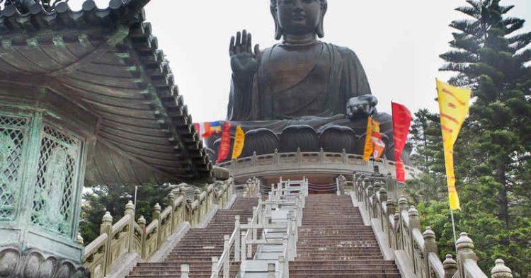 Tian Tan Buddha, il grande Buddha