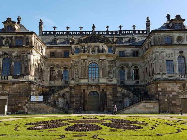 Palazzo di Dresda, dove la pioggia si trasforma in musica